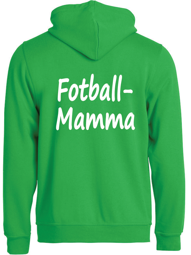 Fotball-mamma hettejakke, Eplegrønn