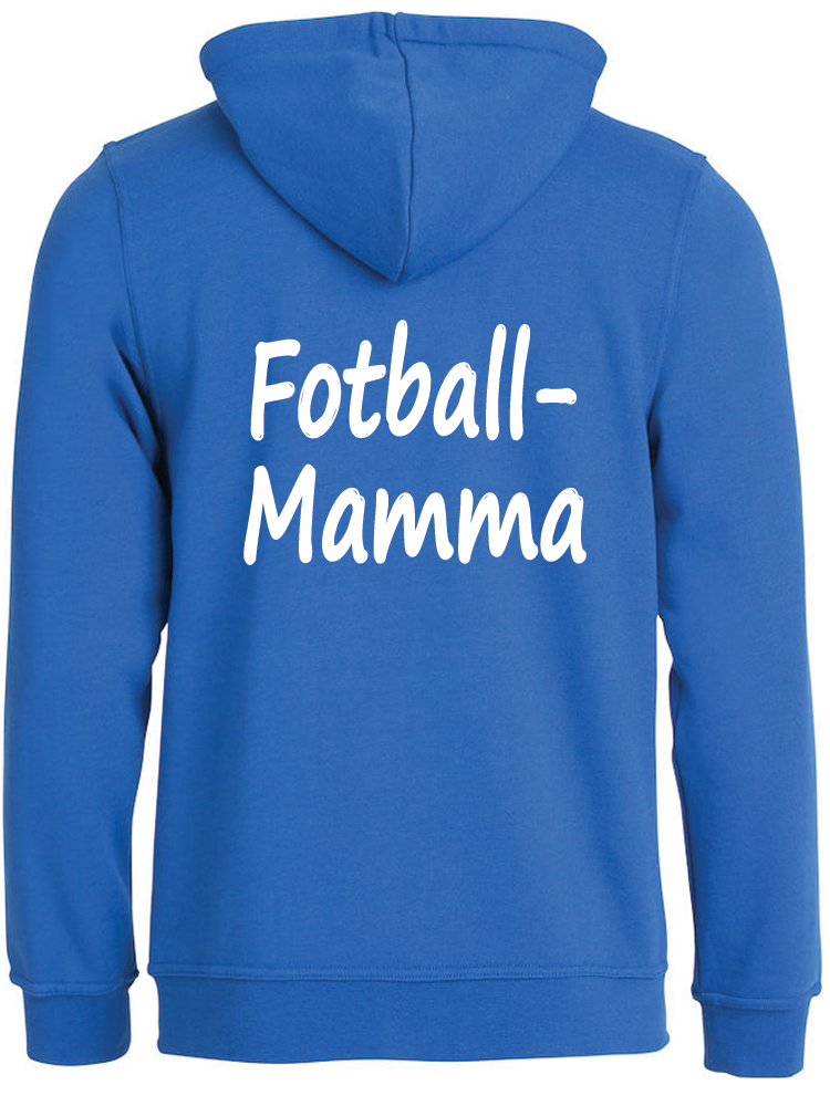 Fotball-mamma Hettejakke, Kornblå