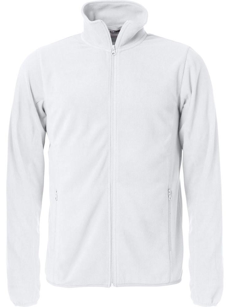 Basic Micro Fleece Jacket, Hvit