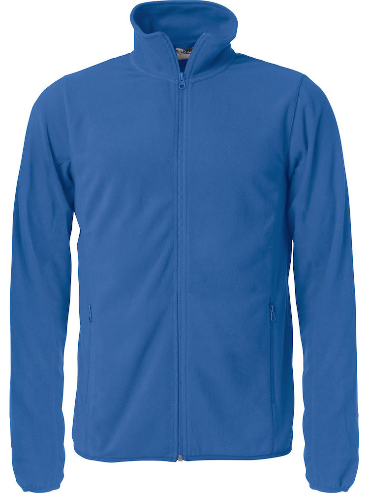 Basic Micro Fleece Jacket, Kongeblaa