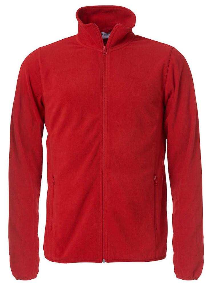 Basic Micro Fleece Jacket roed