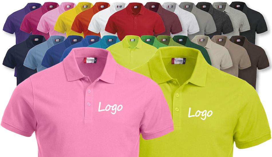 Pique-skjorter Med Logo