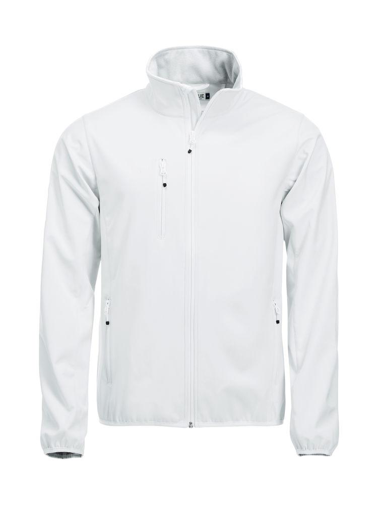 Softshell-jakke Clique Basic, 00 hvit