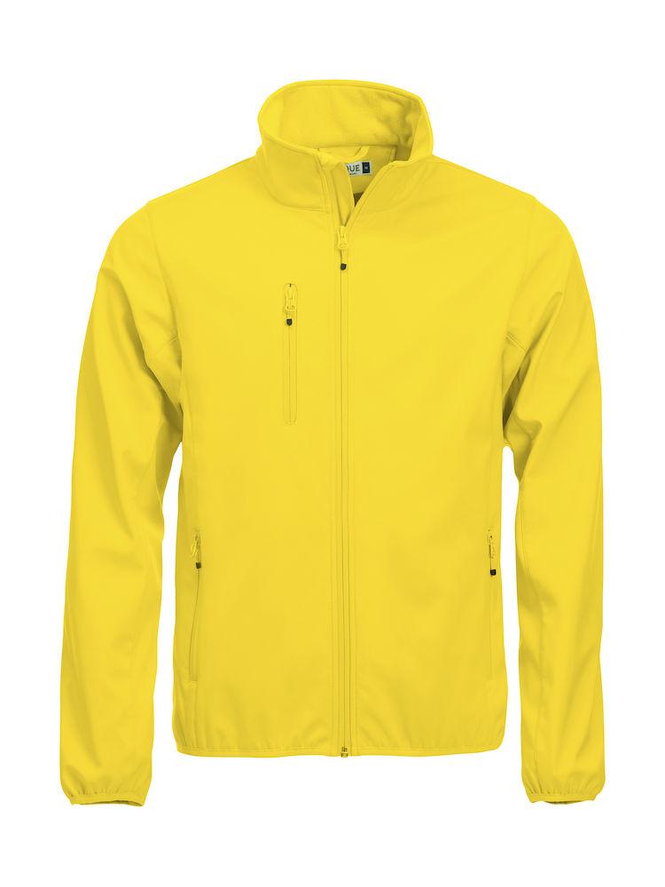 Softshell-jakke Clique Basic, 10 sitrongul