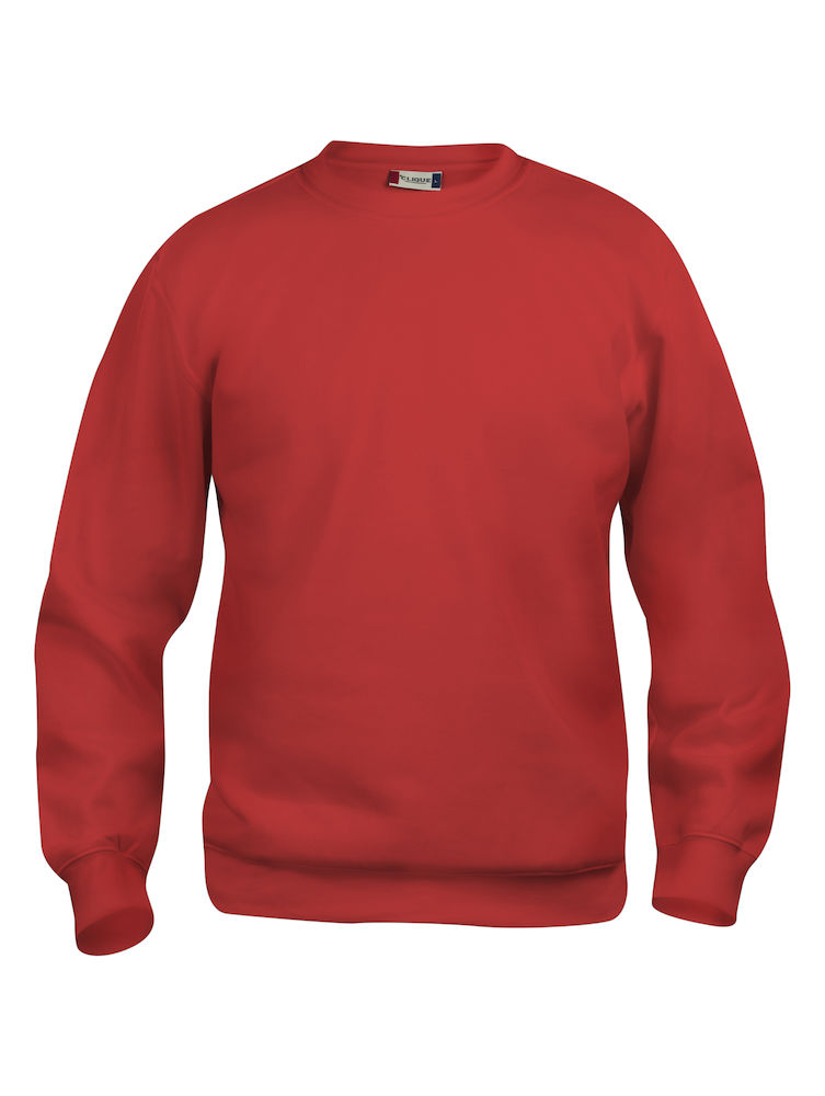 Collegegenser Clique Basic Roundneck, 35 rød