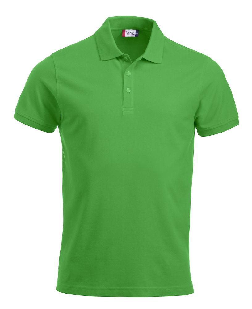 Pique-skjorte Classic Lincoln, 605 Eplegrønn