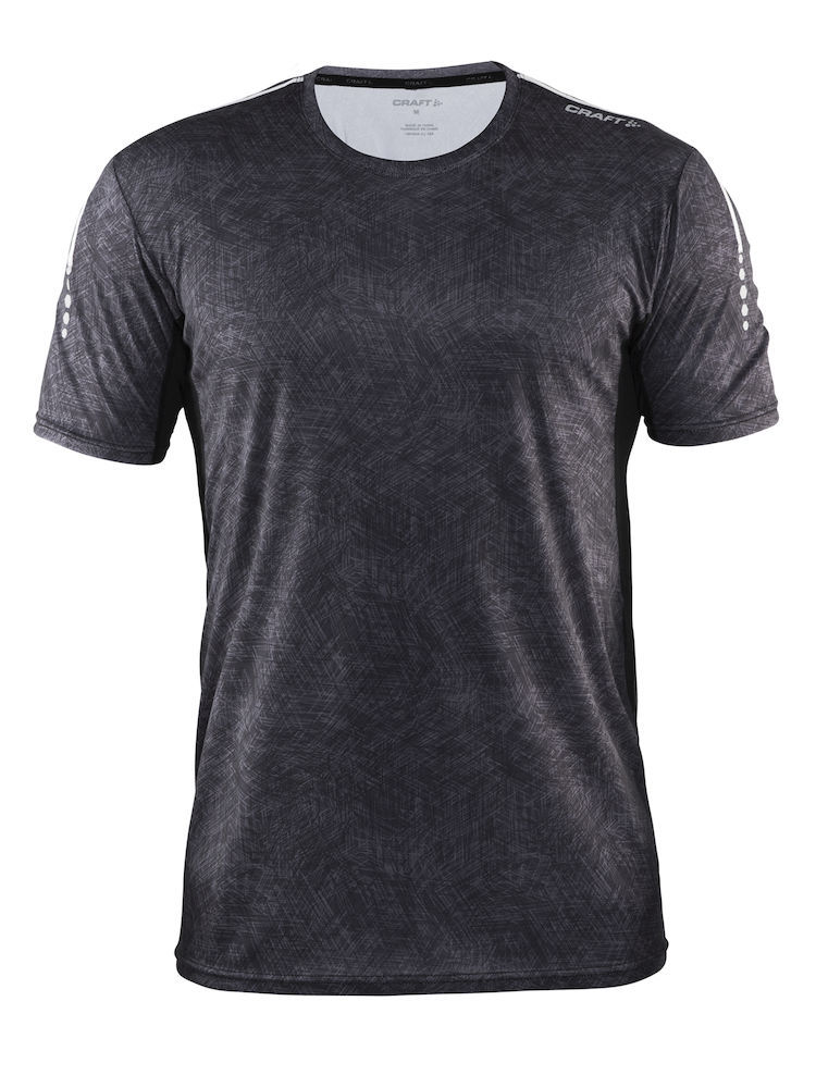Craft Mind SS Tee Man, Black platinium