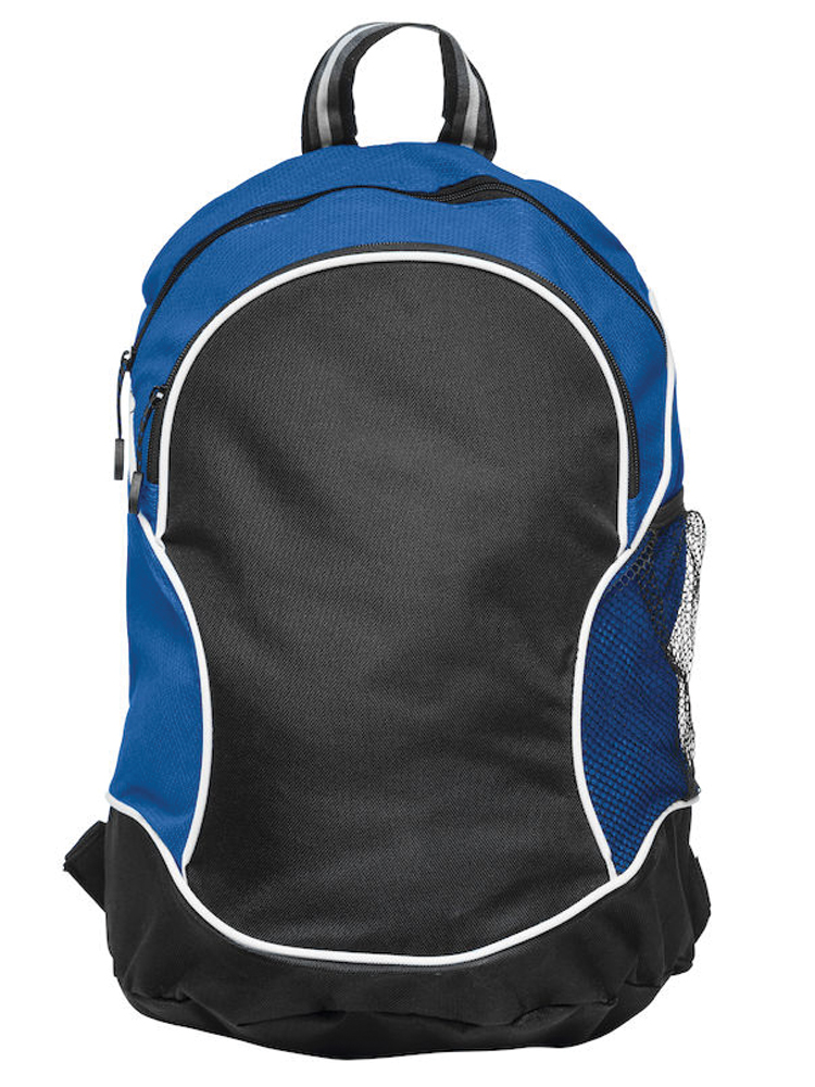Ryggsekk Clique Basic Backpack, Sort Med Blått