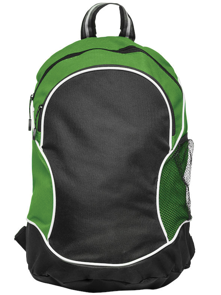 Ryggsekk Clique Basic Backpack, Sort Med Grønt