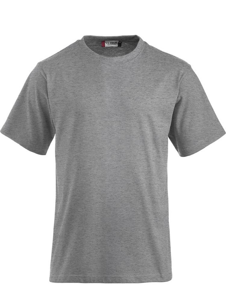 T-skjorte Clique Classic-T, Gråmelert