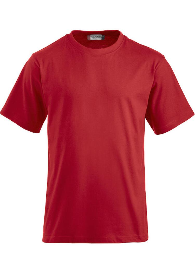 T-skjorte Clique Classic-T, Roed