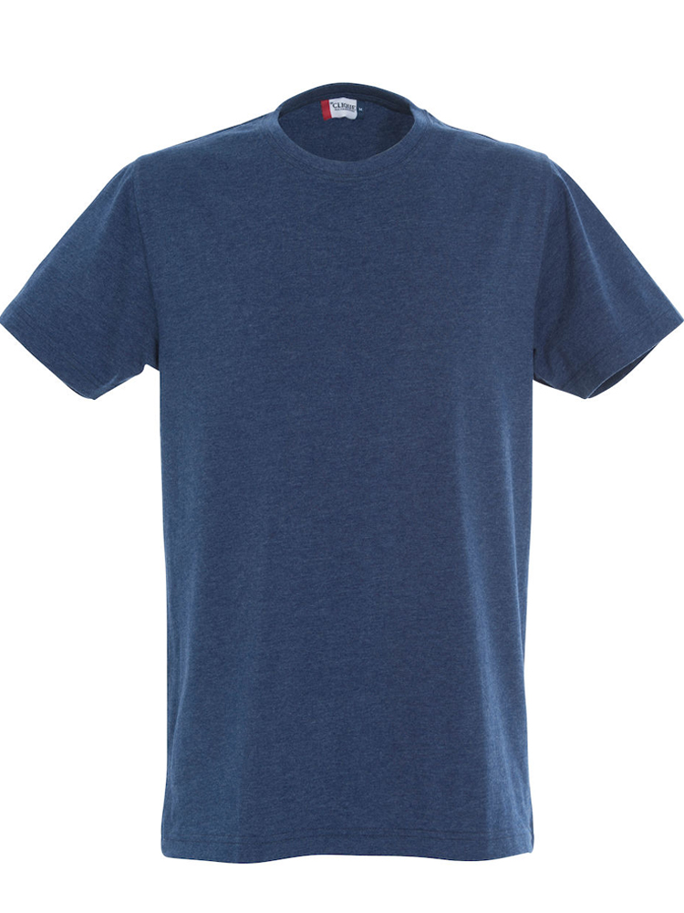 T-skjorte Clique New Classic-T, Blåmelert