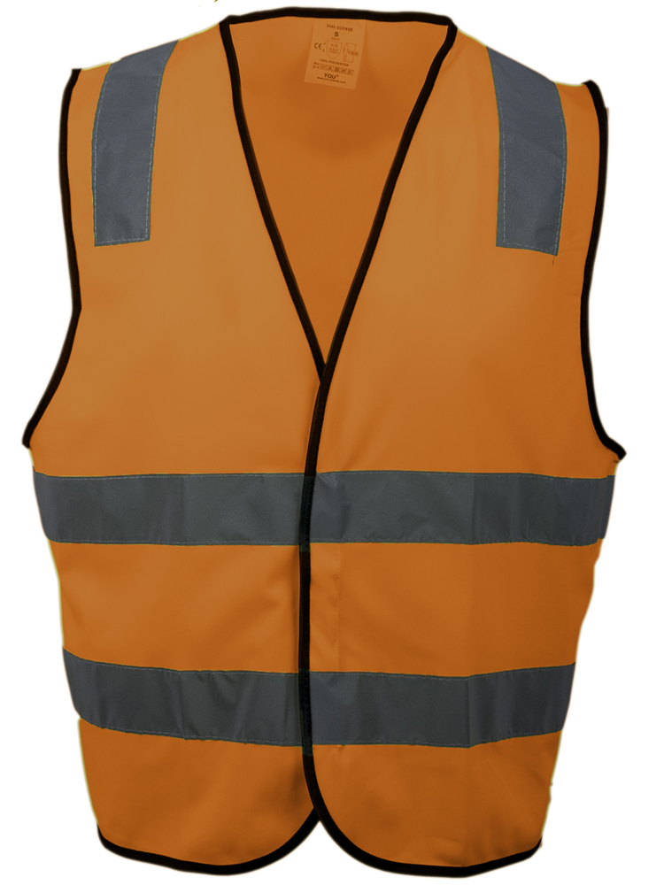 Refleksvest Odense, Safety Orange