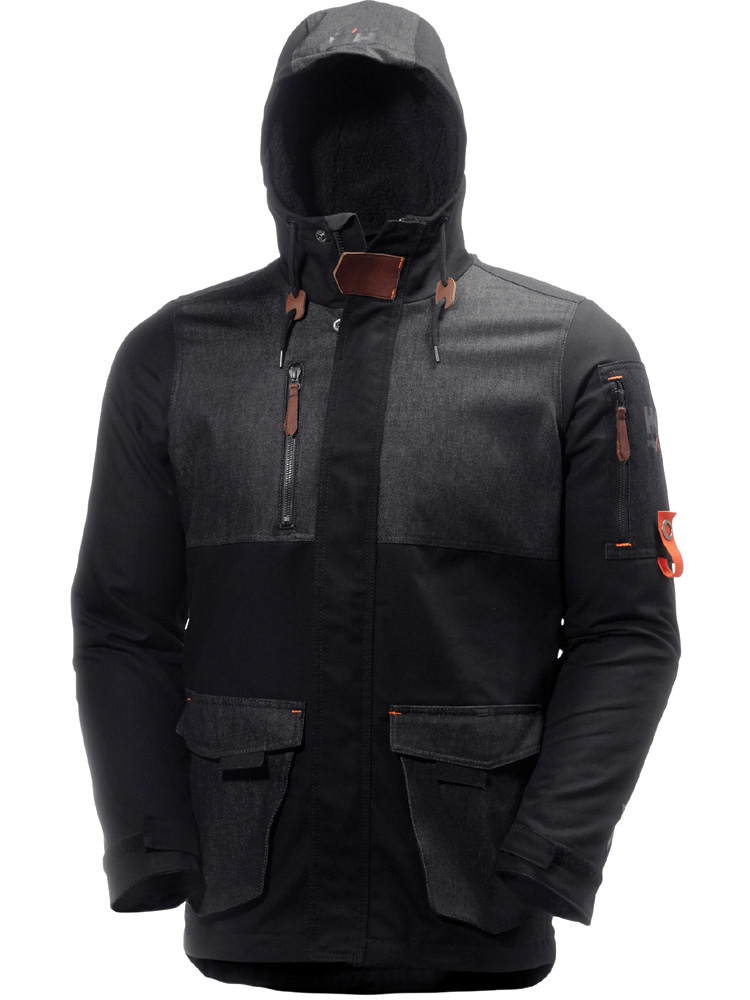Helly Hansen Mjølnir vinterjakke Black/Denim black