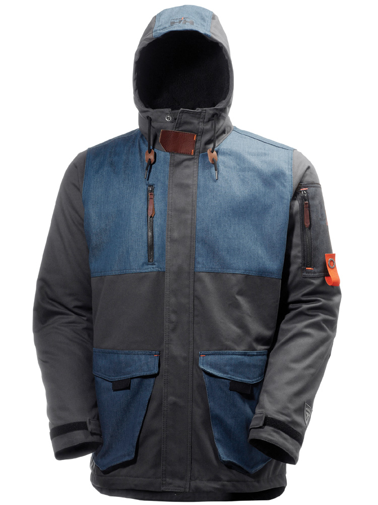 Helly Hansen Mjølnir Vinterjakke Dark Grey/ Deep Steel