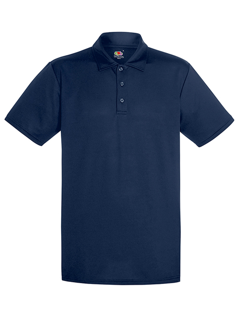 Fruit Of The Loom Performance Polo, Dark navy