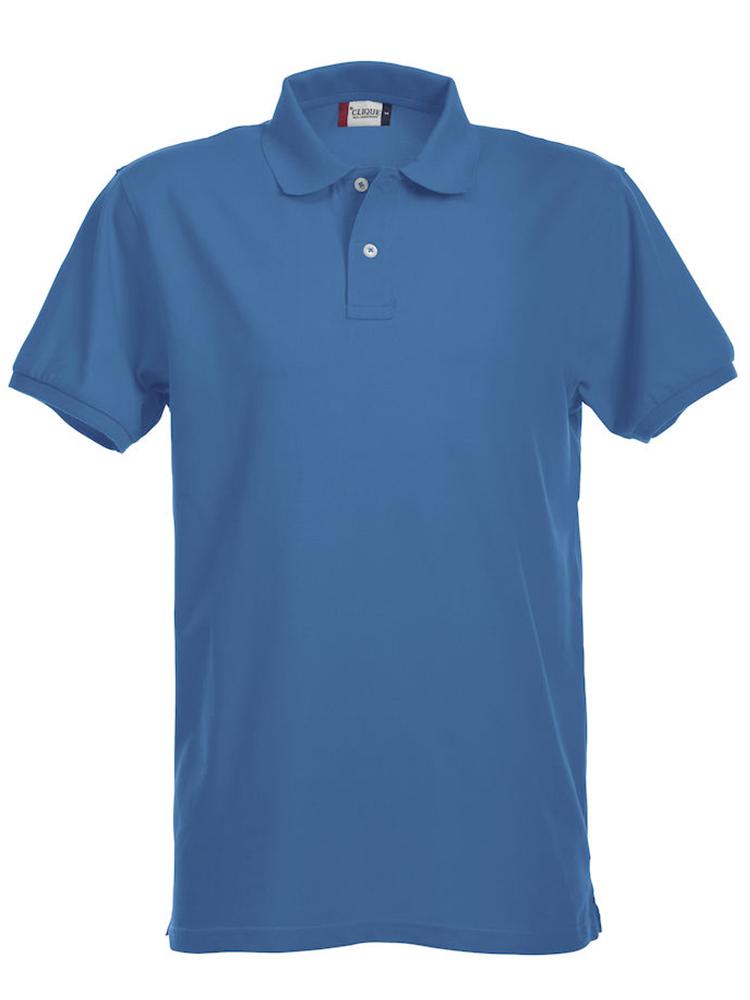 Premium Polo, kornblå
