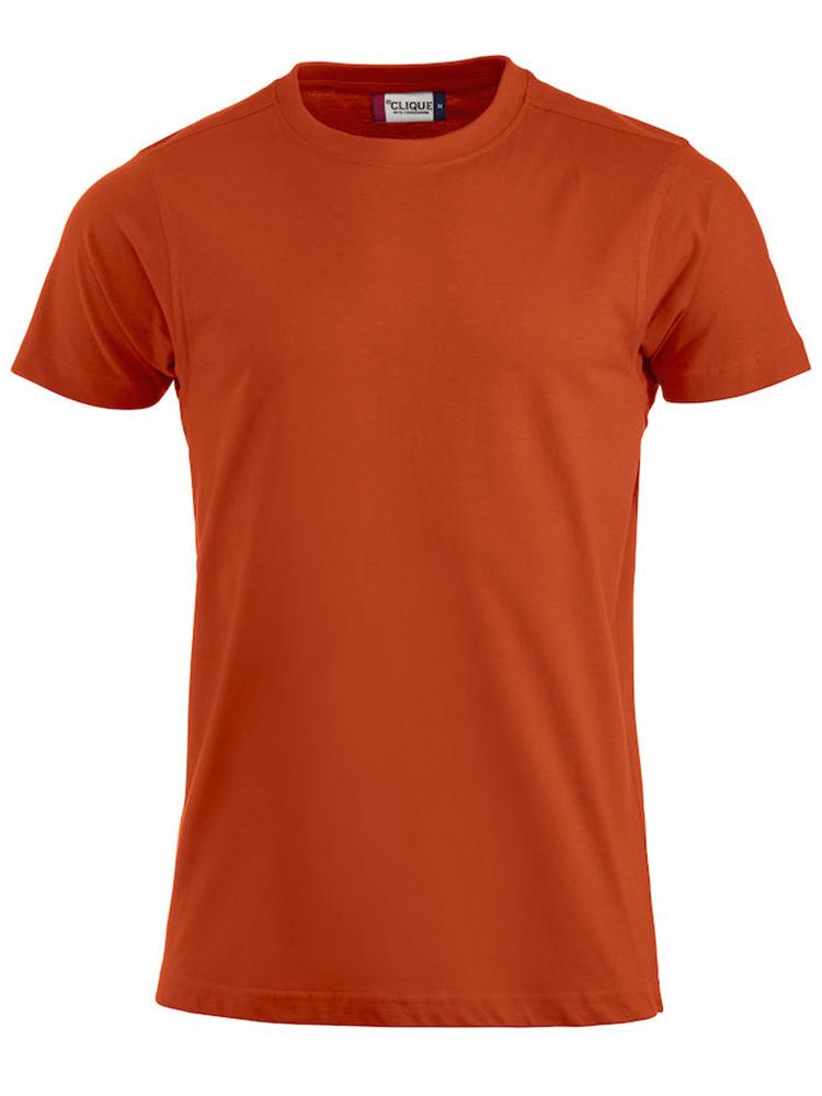 Premium T-skjorte, blodappelsin