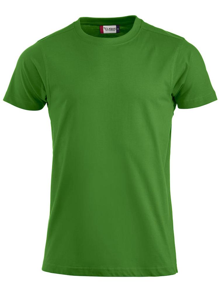 Premium T-skjorte, eplegrønn