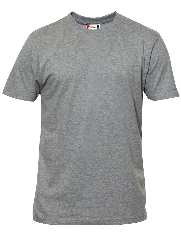 Premium T-skjorte, gråmelert