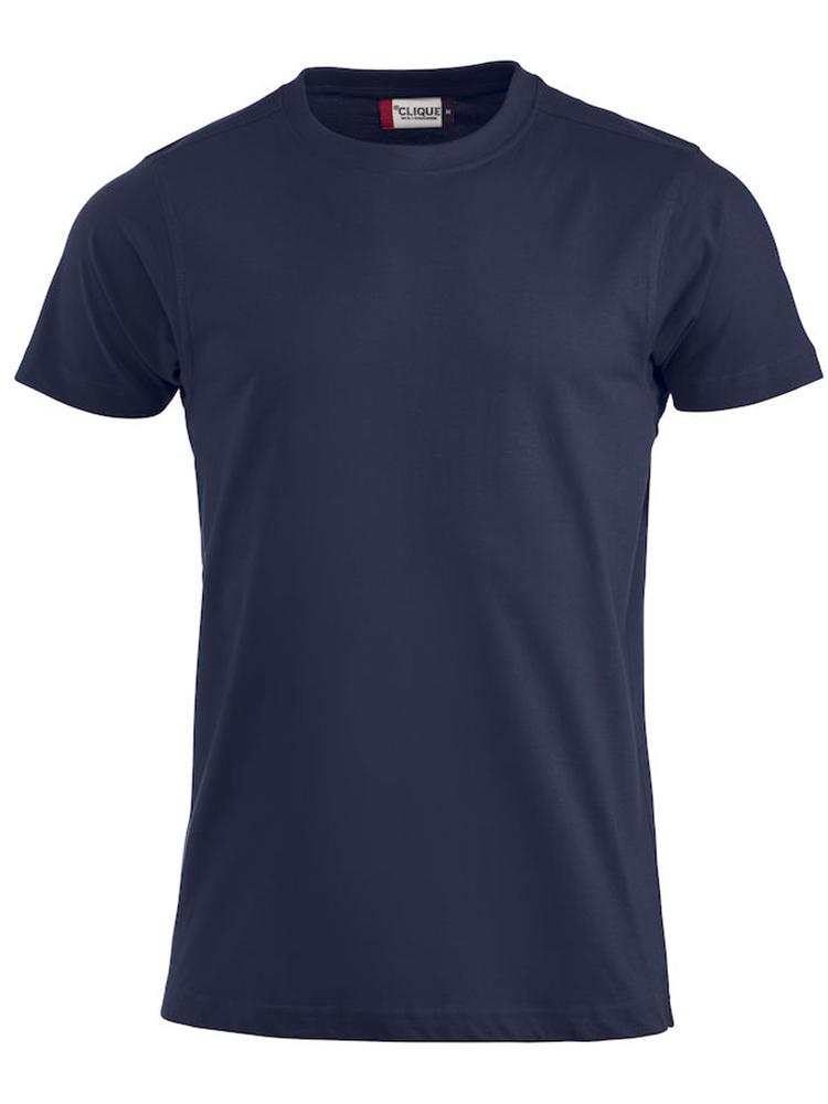 Premium T-skjorte, mørk marine