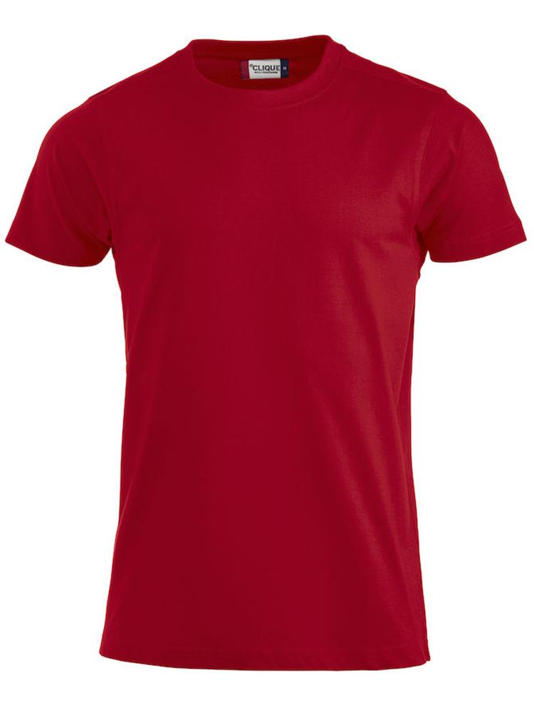 Premium T-skjorte, rød