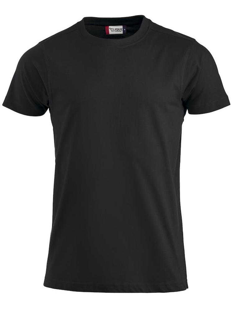 Premium T-skjorte, svart