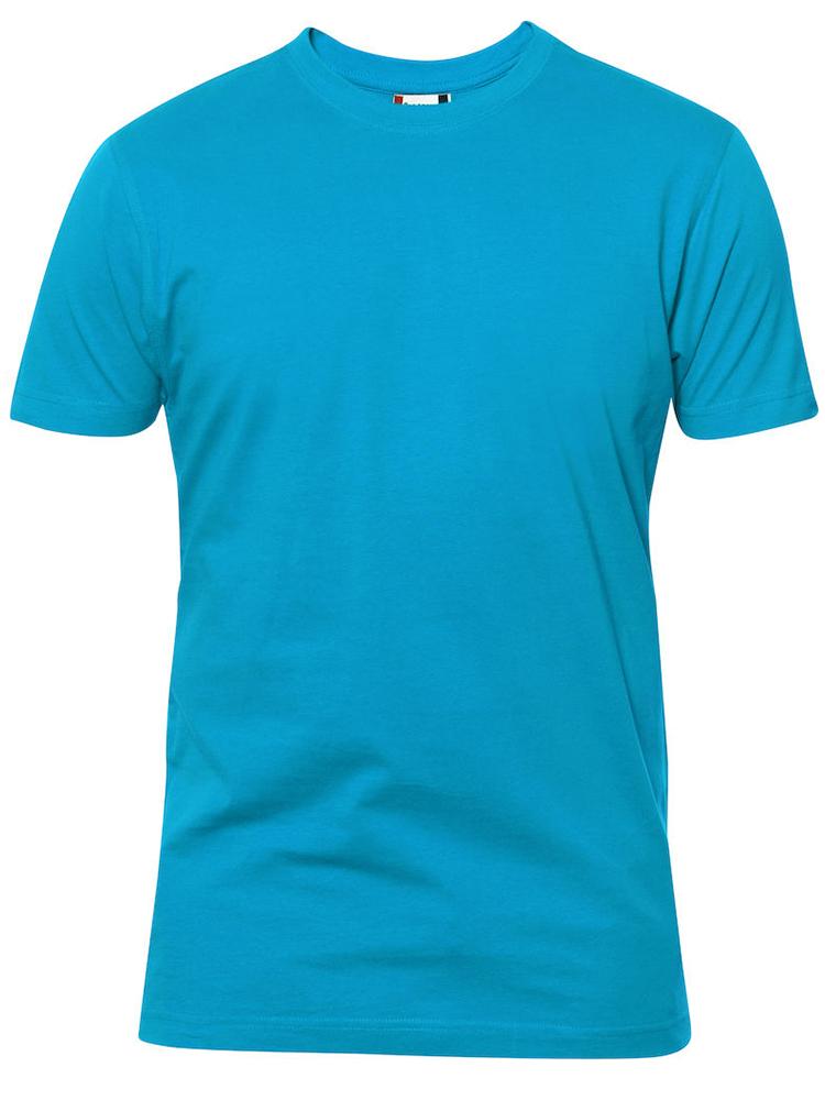 Premium T-skjorte, turkis