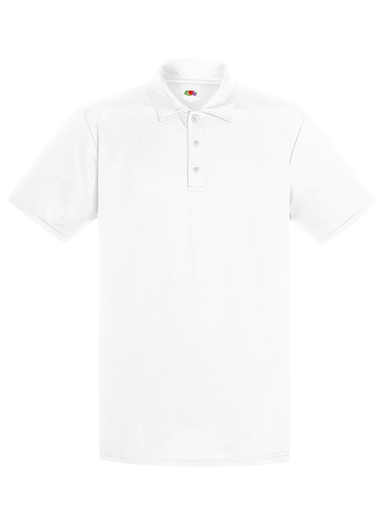Fruit Of The Loom Performance Polo, White