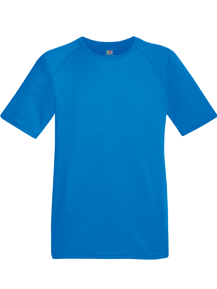 Fruit Of The Loom Performance T, Royalblaa