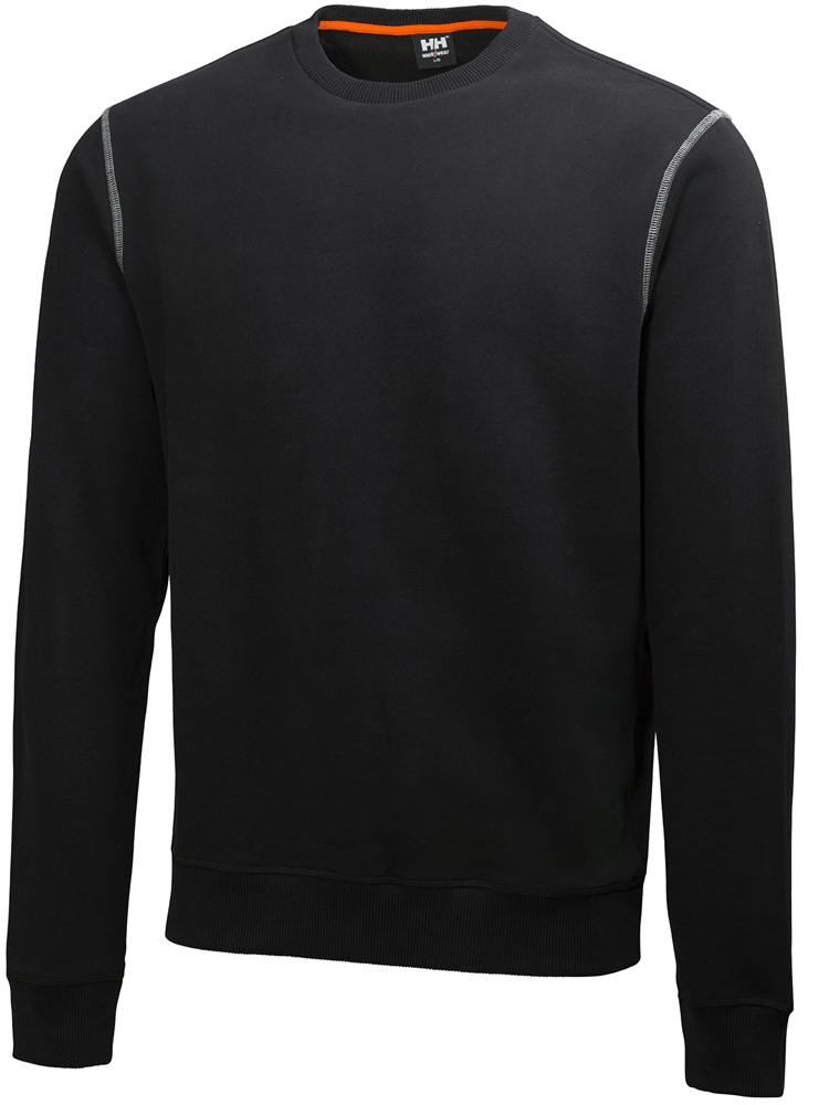 Helly Hansen Oxford Sweatshirt, Svart