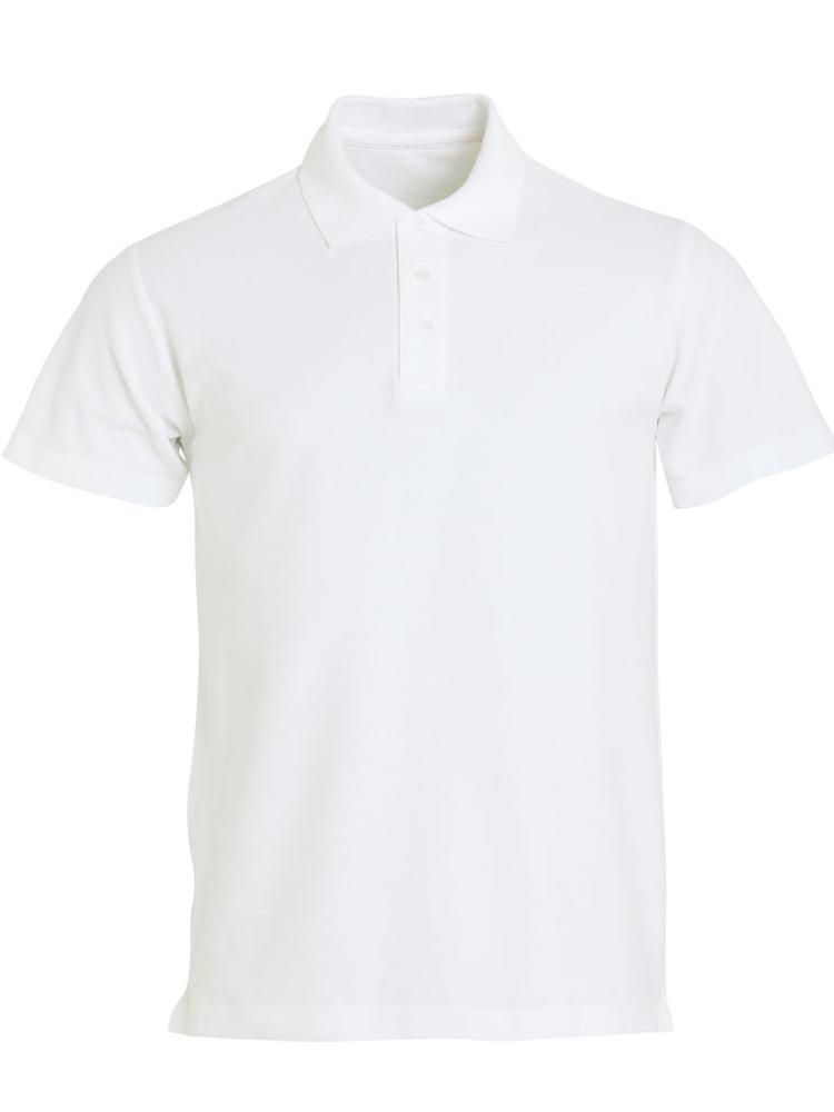 Clique Basic Polo, Hvit