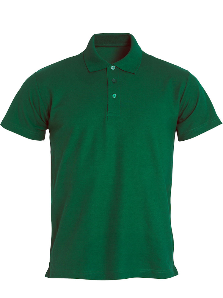 Clique Basic Polo, Flaskegrønn