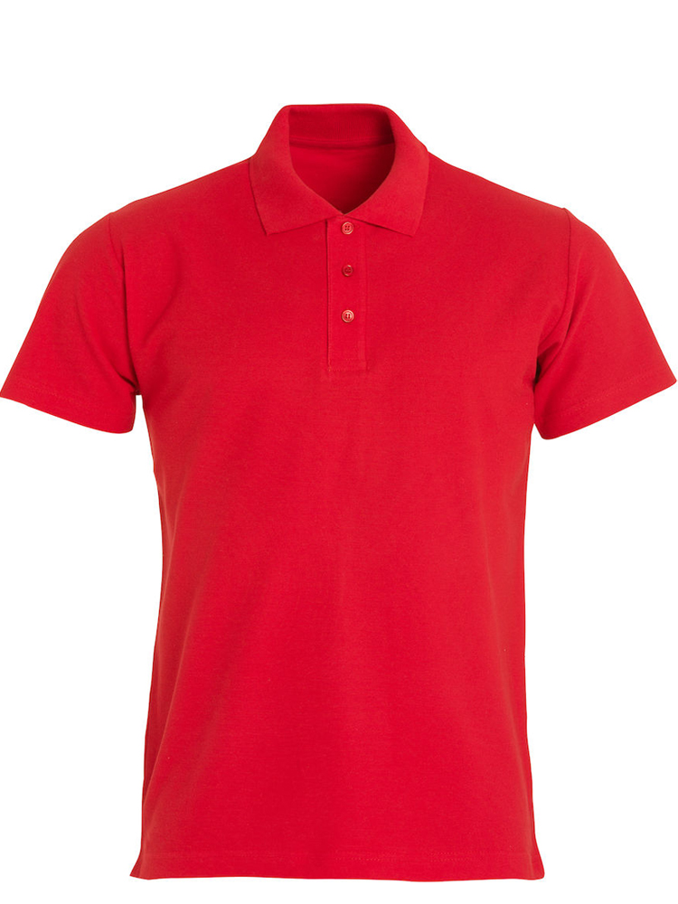 Clique Basic Polo, Rød