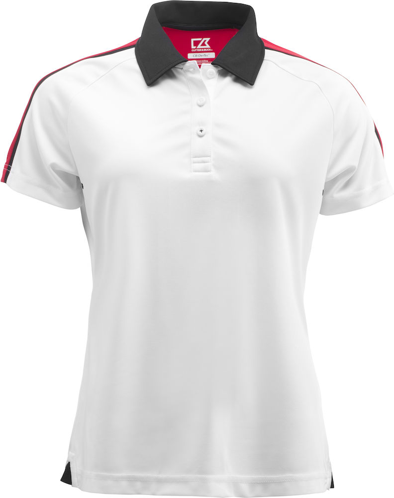Cutter & Buck Breakers Polo Ladies, Hvit