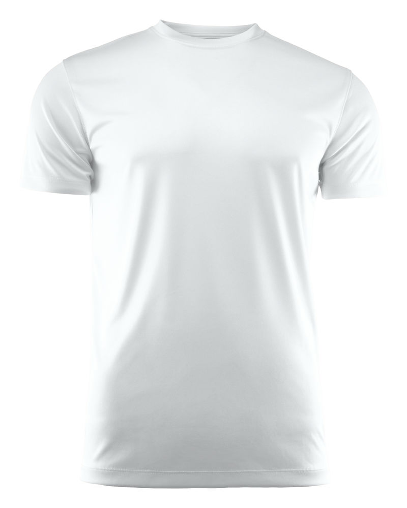 T-skjorte Printer Run, Hvit