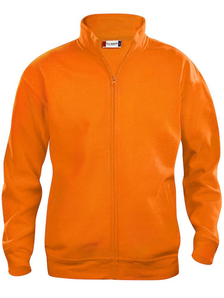 Clique Basic Cardigan, Visibility oransje