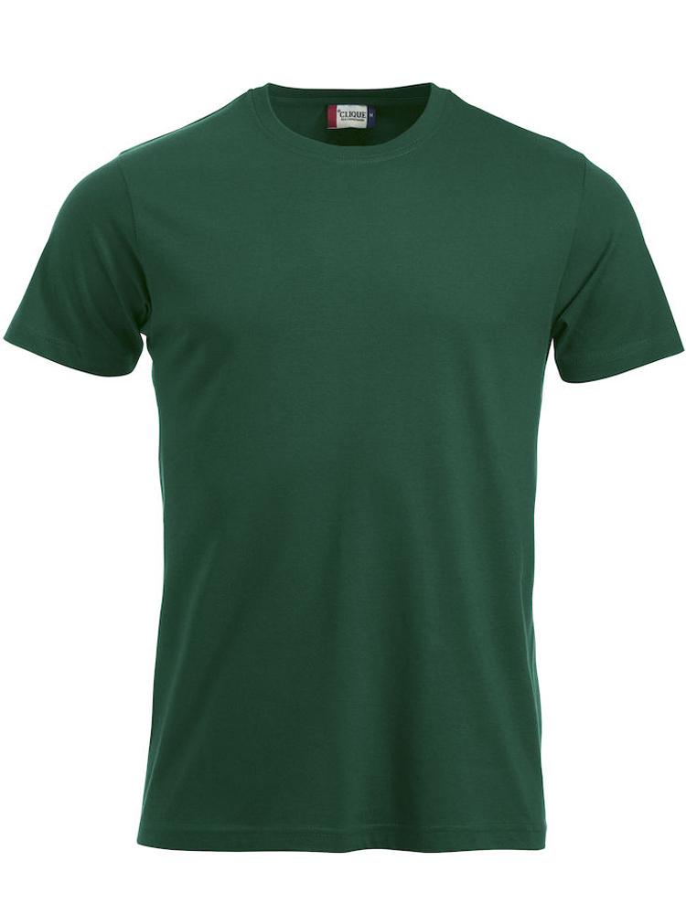 T-skjorte Clique New Classic-T, Flaskegrønn