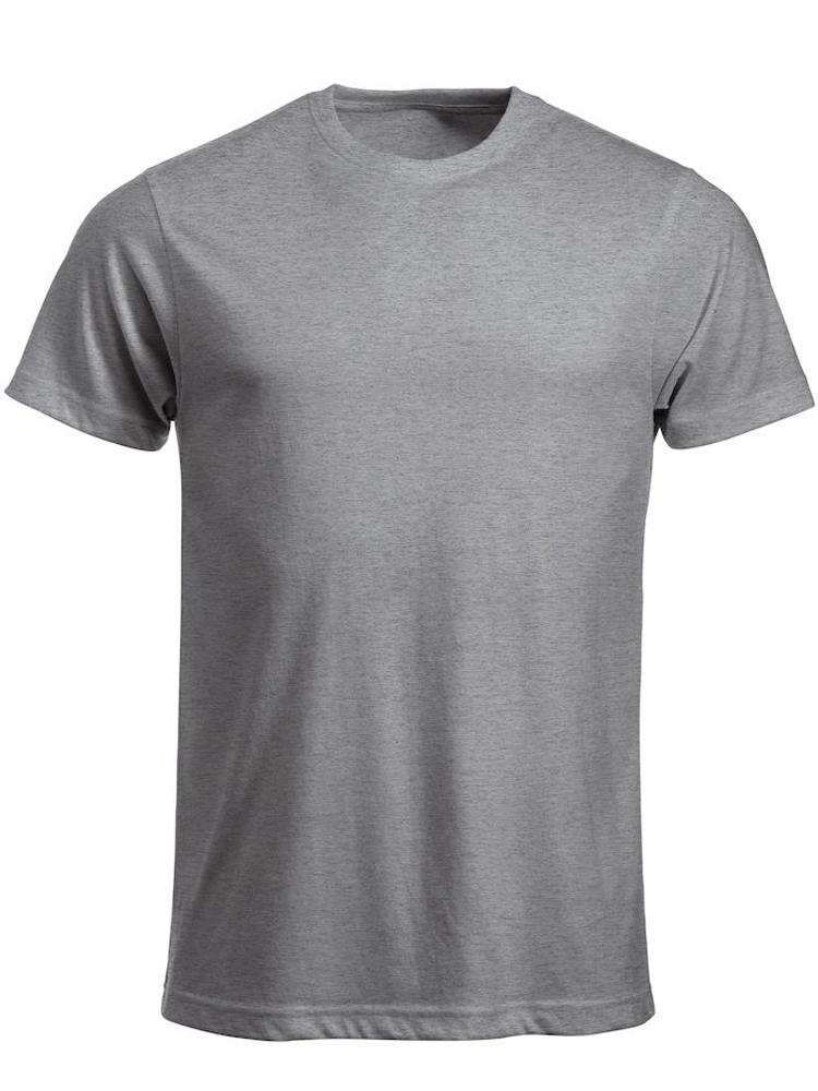 T-skjorte Clique New Classic-T, Gråmelert