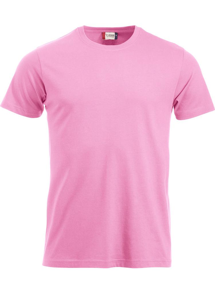 T-skjorte Clique New Classic-T, Klar rosa