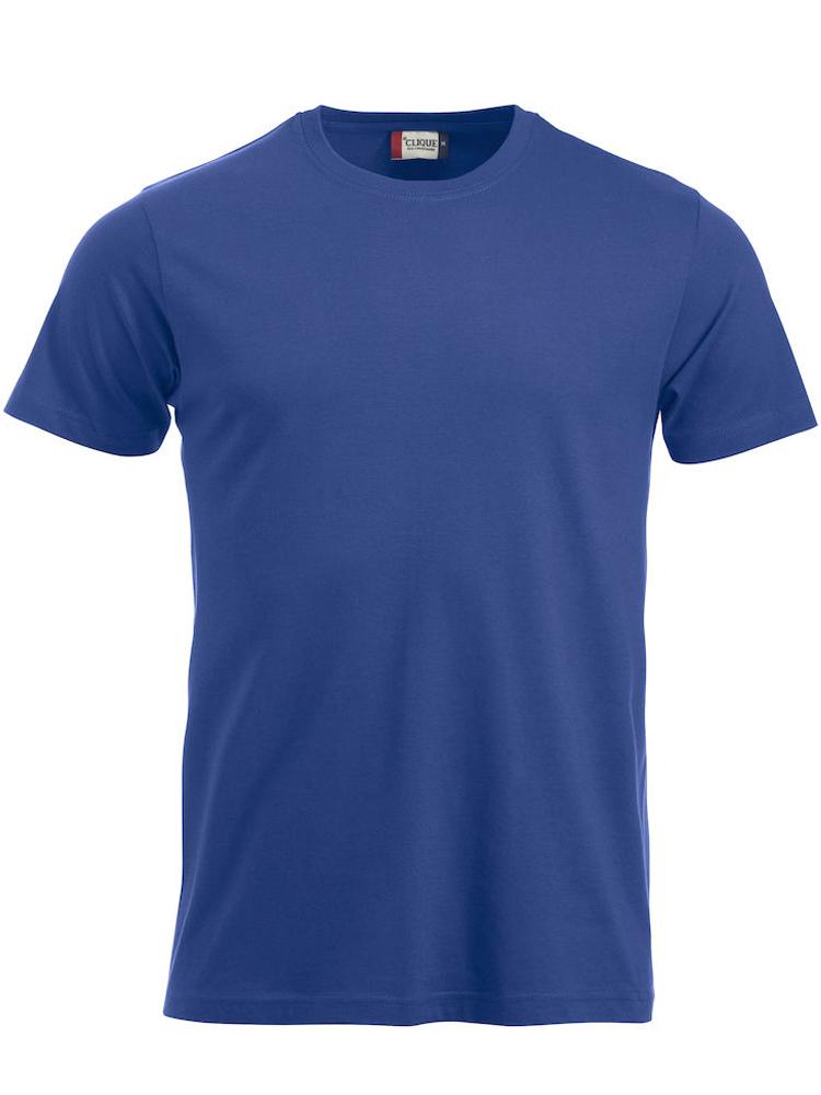 T-skjorte Clique New Classic-T, Koboltlblå