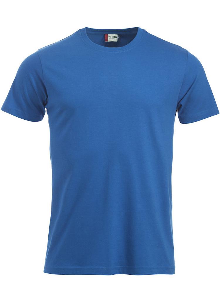 T-skjorte Clique New Classic-T, Kornblå