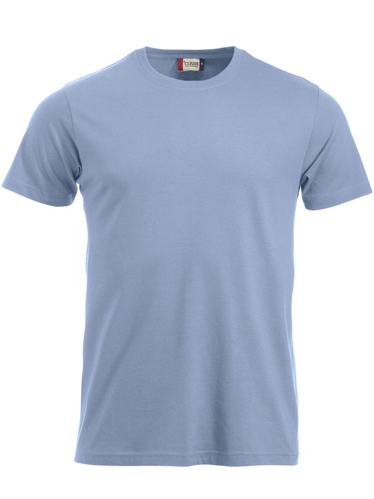 T-skjorte Clique New Classic-T, Lyseblå