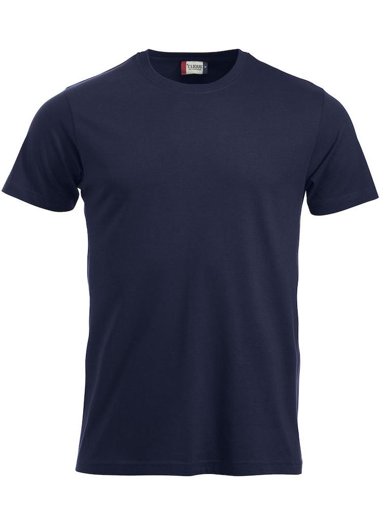 T-skjorte Clique New Classic-T, Mørk marine
