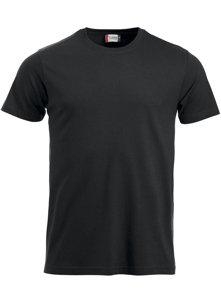 T-skjorte Clique New Classic-T, Svart