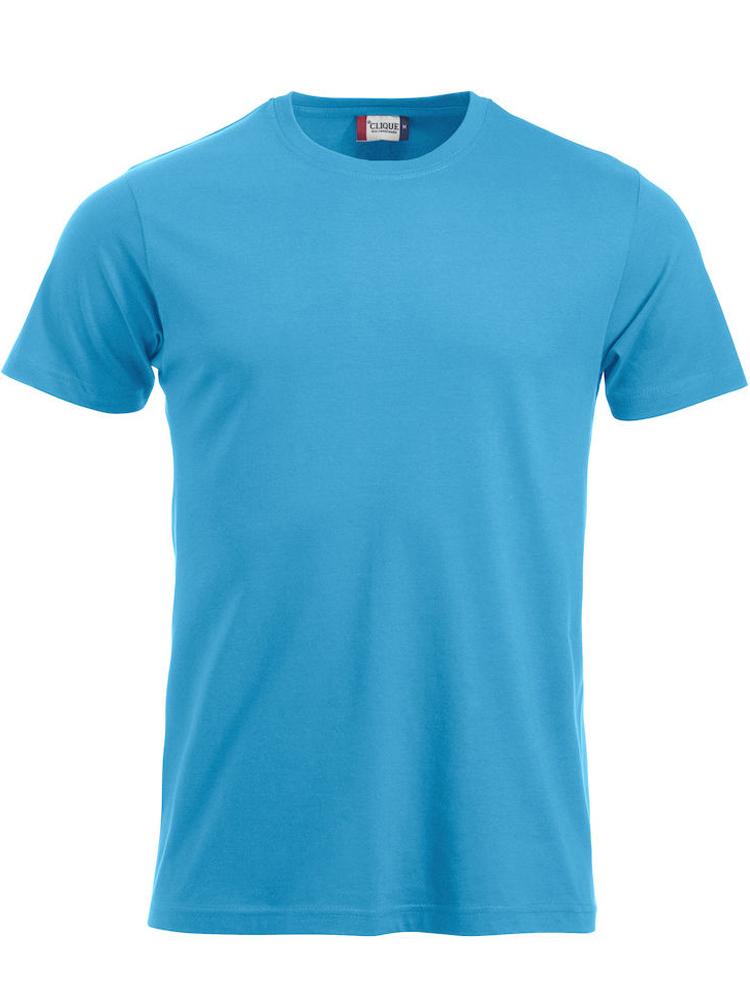 T-skjorte Clique New Classic-T, Turkis
