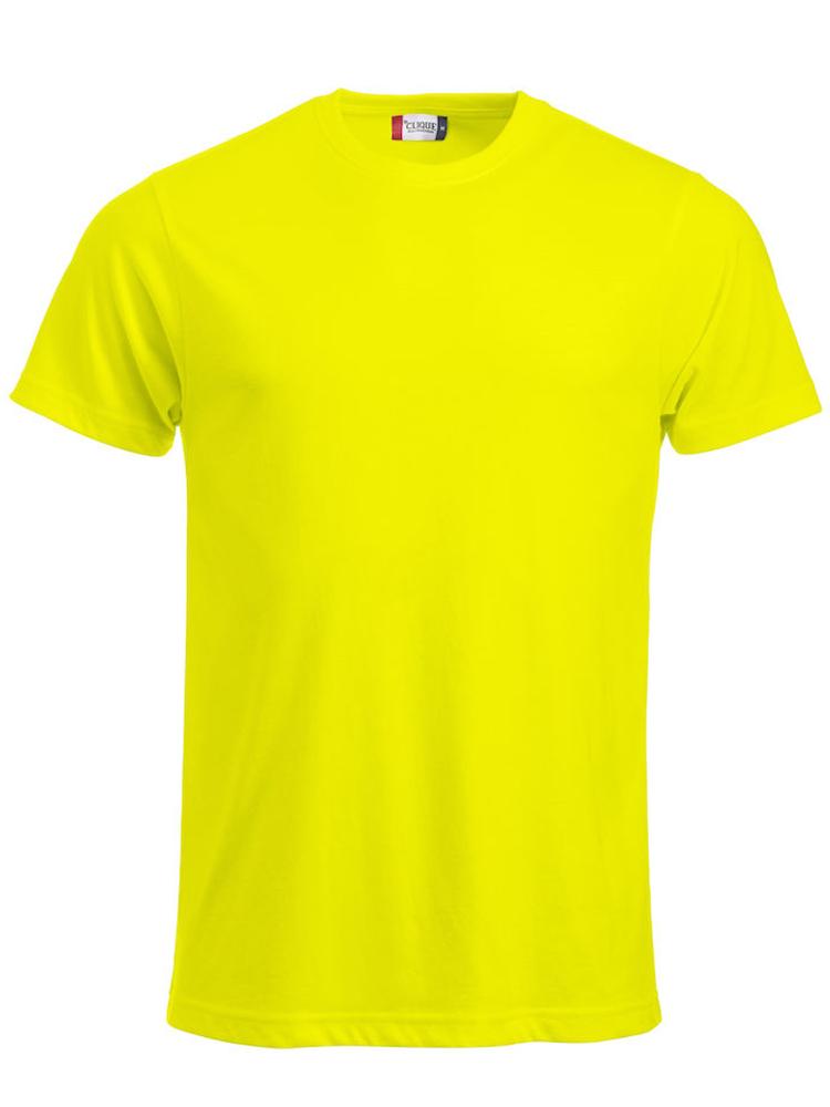 T-skjorte Clique New Classic-T, Visibility gul