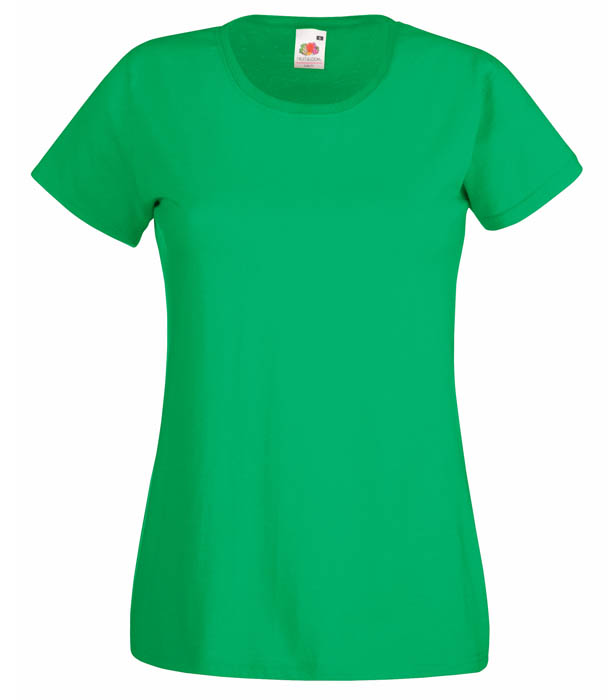 Fruit of the Loom Valueweight T Lady, Kelly Green