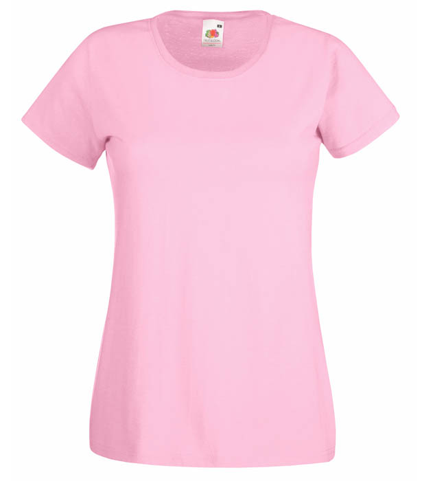 Fruit of the Loom Valueweight T Lady, Light Pink