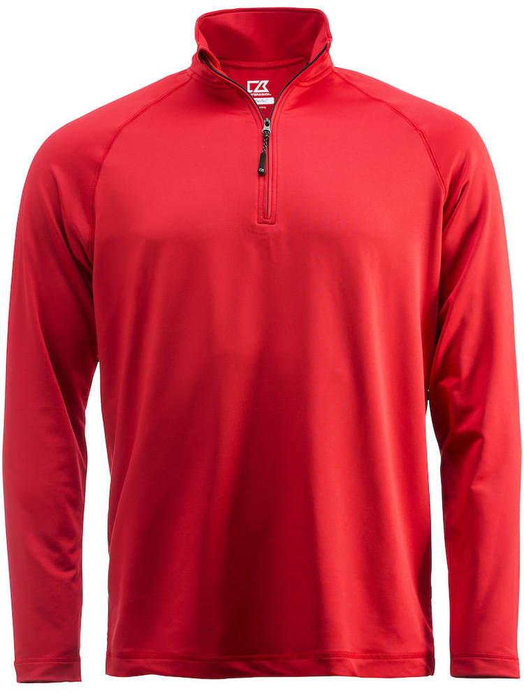 Cutter & Buck Coos Bay Half Zip, Roed